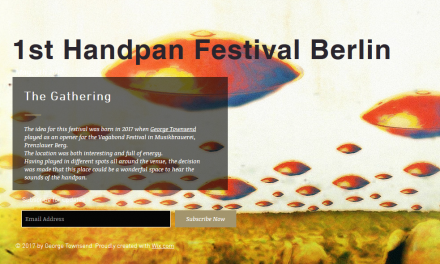 Handpanfestival in Berlin – 5.5.2017