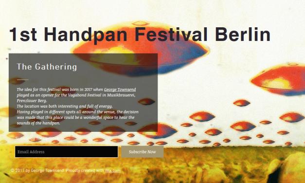 Handpanfestival in Berlin – 5.5.2017
