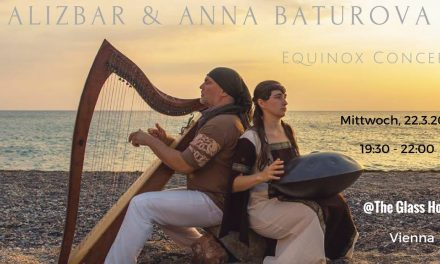 Alizbar & Anna Baturova ~ Hang and Harp ~ Konzert