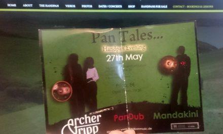 """""""Pan Tales"""" Mandakini & Archer Tripp • 27.5.17 (DT)"""