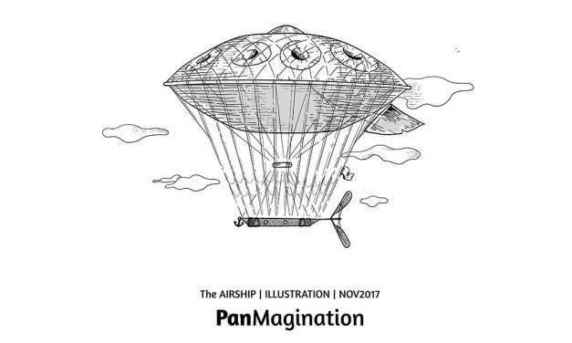 Panmagination- Pan Illustrationen von Chris NG