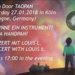Taopan Handpan – Tag der offenen Tür – 27.1.2018,  Köln (DT)