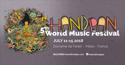 5th Handpan & World Music Festival – 11-15.07.2018 – Mèze(FR)
