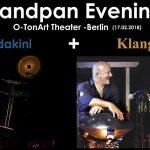 Handpan Evening –  Mandakini / Klangart-Berlin – 17.2.18 (DT)