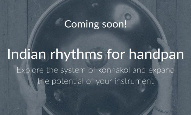 Onlinekurs: Indische Rhythmen für das Handpan!