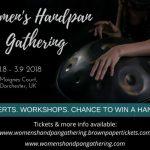 Women's Handpan Gathering 31.8.- 3.9.2018 (UK)
