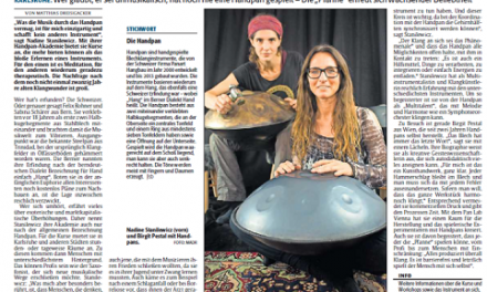 """Presseartikel """"Das Blech hat immer das letzte Wort"""" / Rheinpfalz"""