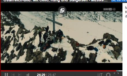 """ORF: """"Österreich-Bild: Mit Cello, Hang und Steigeisen"""""""