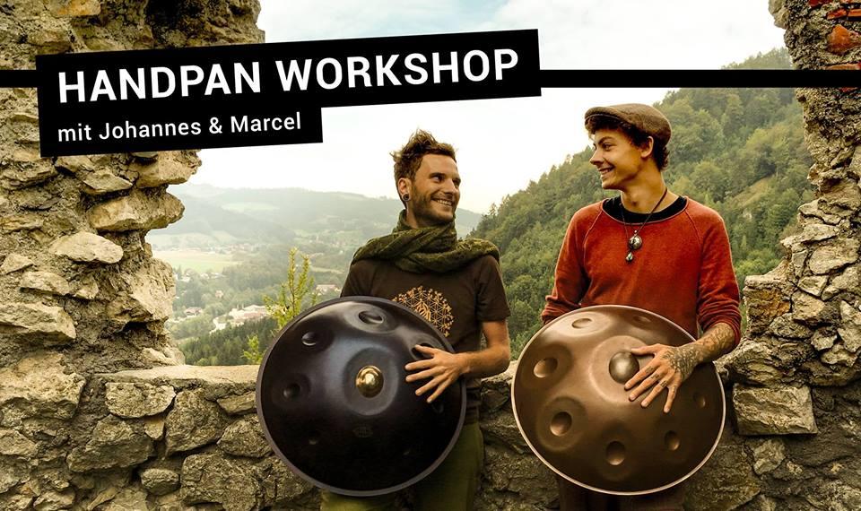 Handpan-Workshop (Beginners)-21.10.2018 / Gmunden (AT)