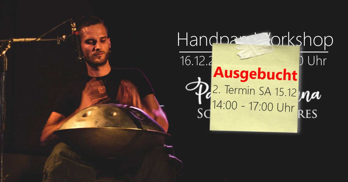 Handpan Workshop (Beginner) 16.12.18 / Wien (AT)
