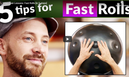 David Kuckhermann: Handpan Videokurs auf Youtube