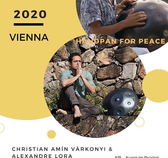 """ABGESAGT """"Handpan for Peace""""- Konzert19.6.2020 /Wien (AT)"""