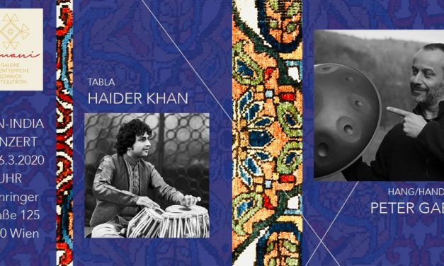 PAN-INDIA PROJECT- Haider Khan und Peter Gabis – 6.3.2020/Wien (AT)