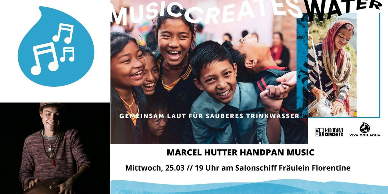 "Marcel Hutter – Sofaconcert ""Music Creates Water"" 25.3.2020 -Linz (AT)"