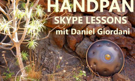 Online Handpan Lessons mit Daniel Giordani
