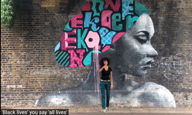 Rosie Bergonzi – Handpan Rap #BlackLivesMatter